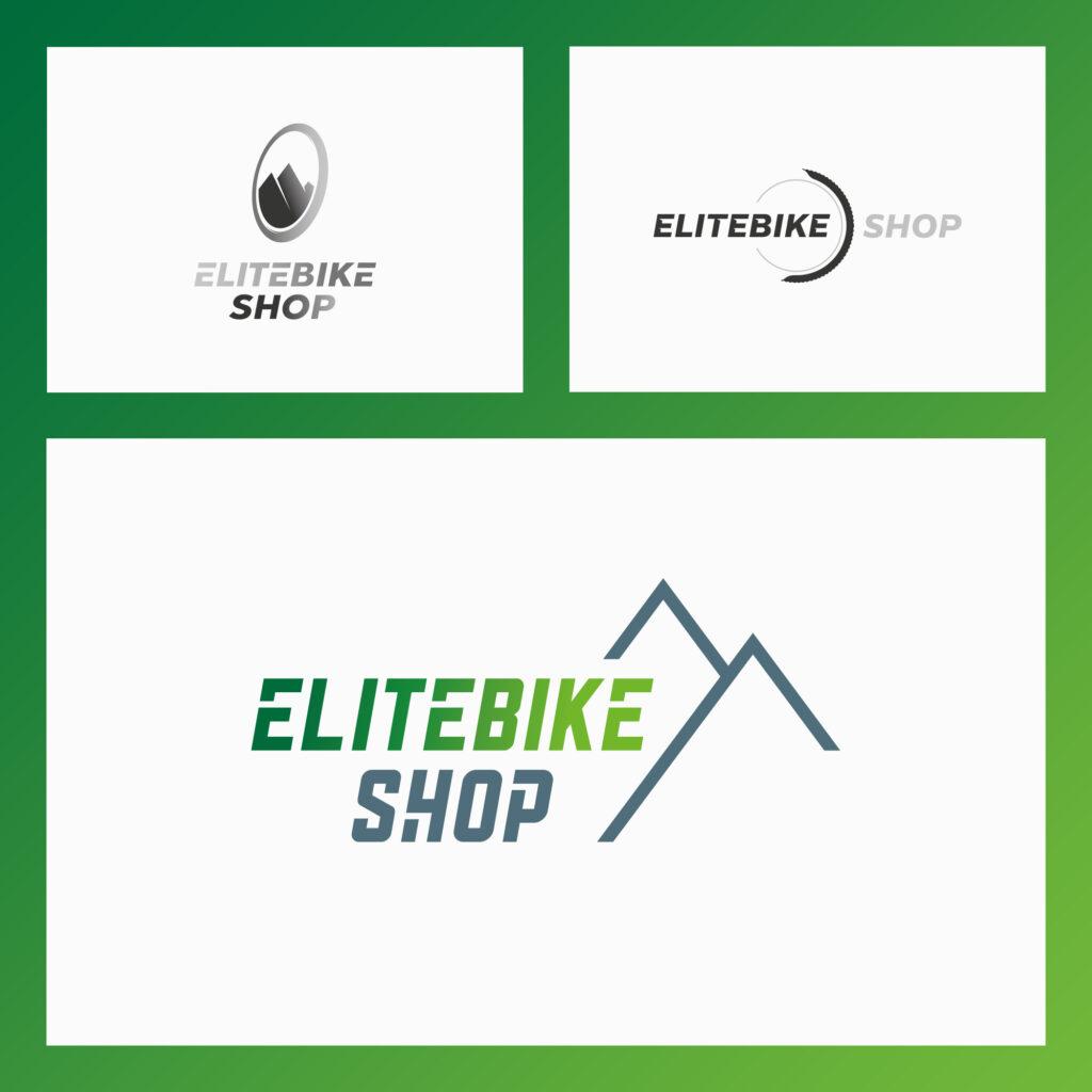 Logo-Entwicklung Elitebikeshop